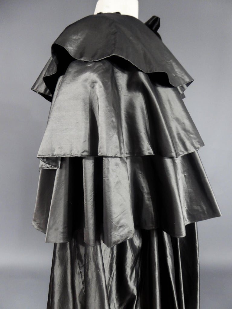 Christian Dior Haute Couture Cape Number 15592 For Sale 4