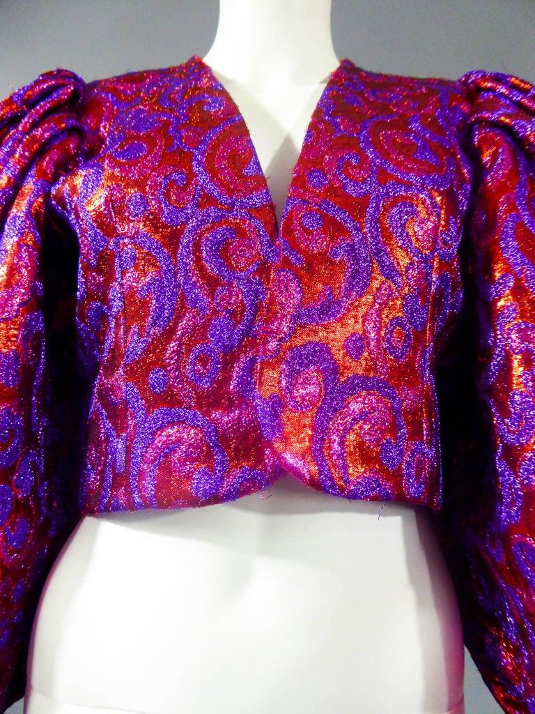 Yves Saint Laurent Haute Couture Boléro, Winter 1989 For Sale 3