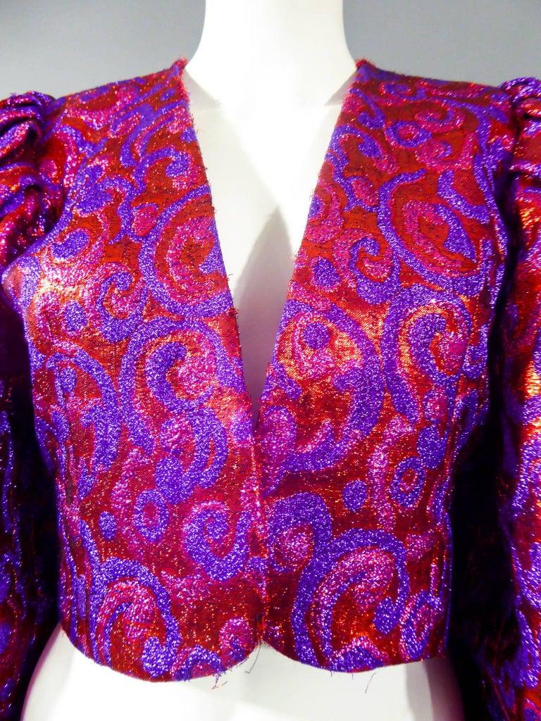 Yves Saint Laurent Haute Couture Boléro, Winter 1989 For Sale 4