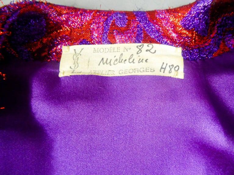 Yves Saint Laurent Haute Couture Boléro, Winter 1989 For Sale 5