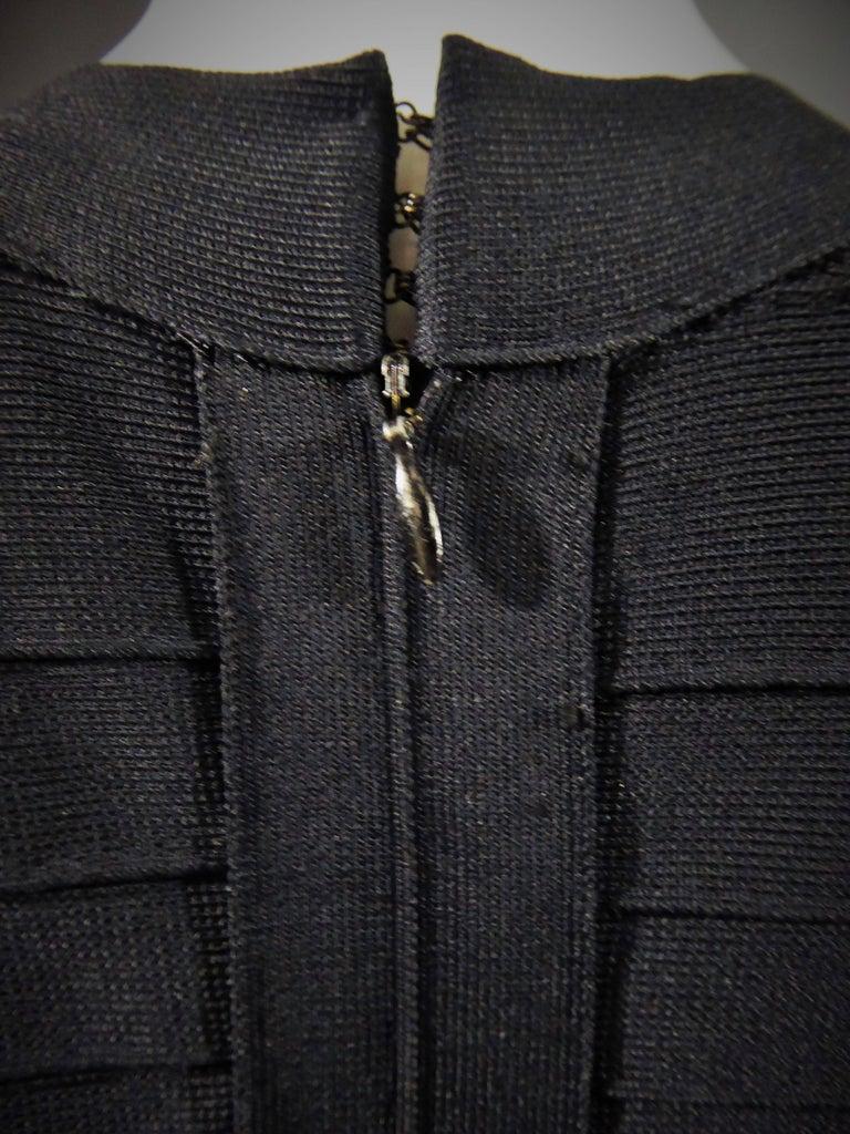 Hervé Léger Couture Dress For Sale 5