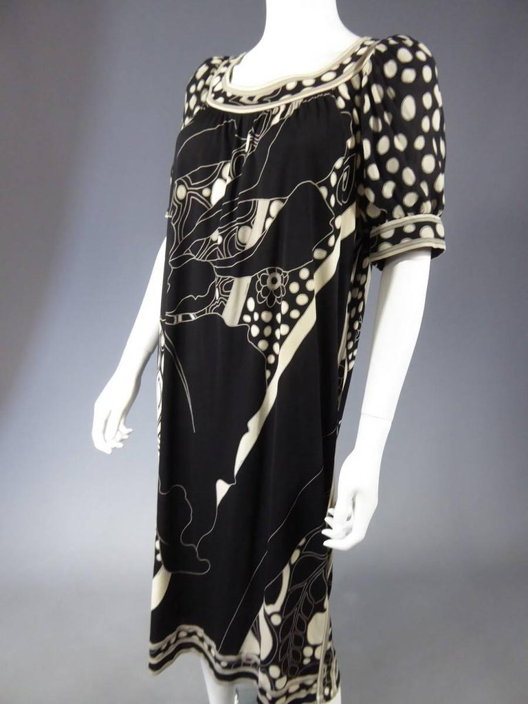 Léonard Dress, Circa 1970 - 1975 For Sale 1