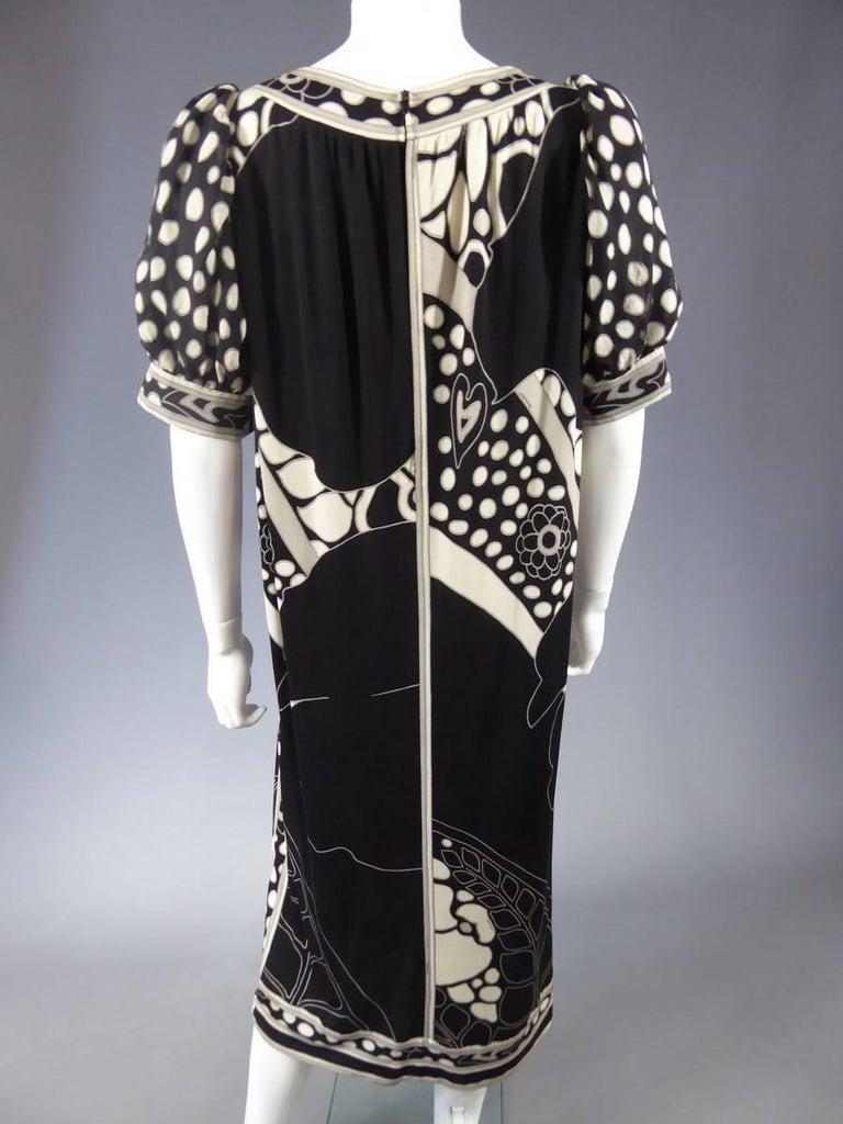 Léonard Dress, Circa 1970 - 1975 For Sale 4
