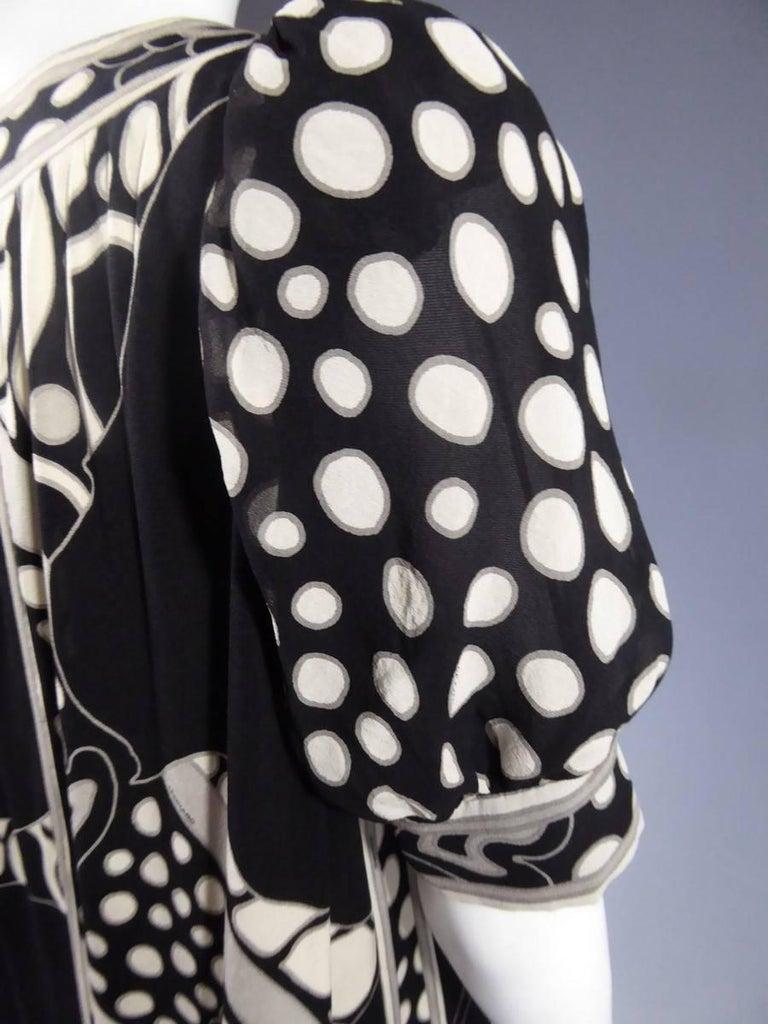 Léonard Dress, Circa 1970 - 1975 For Sale 7