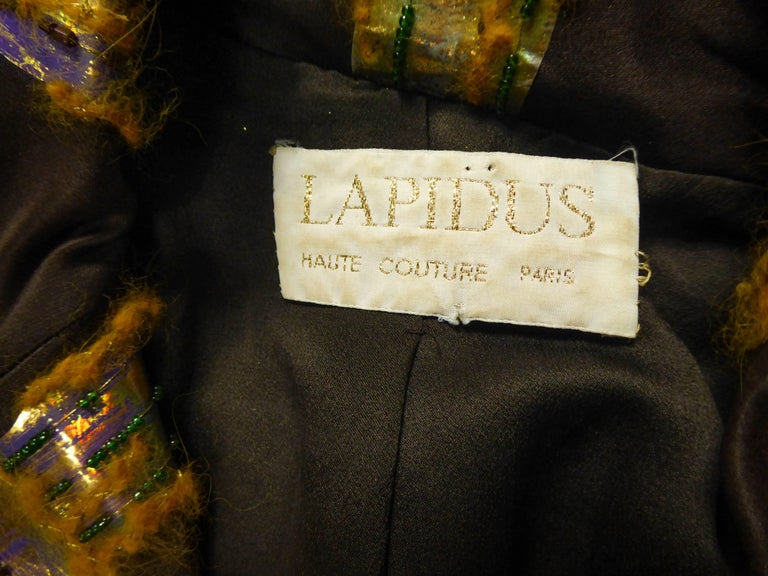 Ted Lapidus Haute Couture Skirt Set by Olivier Lapidus  Circa 1990 For Sale 9
