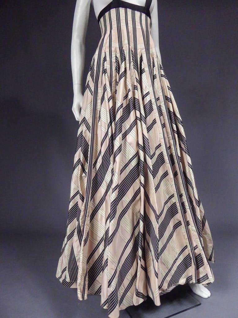 Rochas silk skirt - Circa 2000 For Sale 2