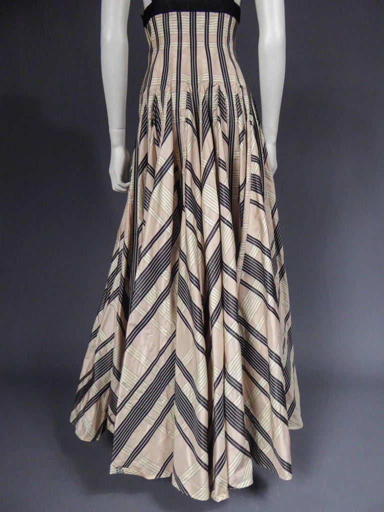 Rochas silk skirt - Circa 2000 For Sale 6