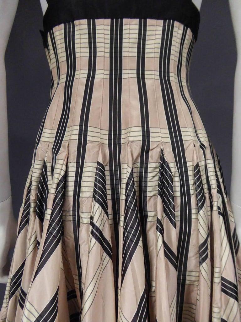 Rochas silk skirt - Circa 2000 For Sale 7