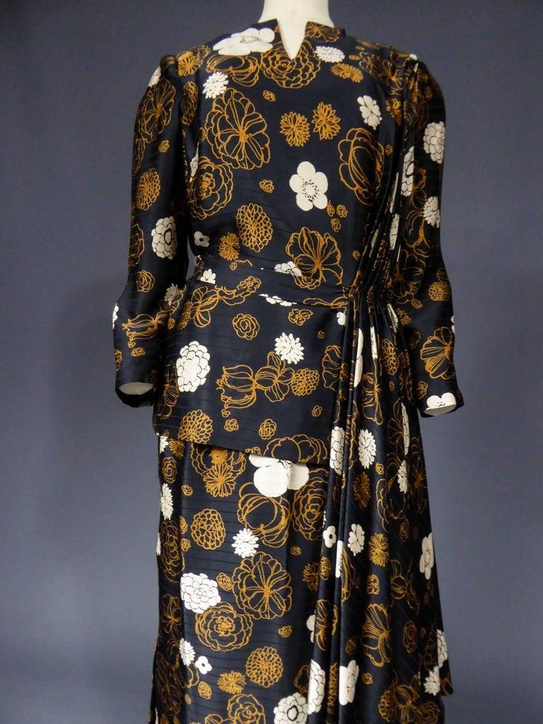 Madame Grès Haute Couture Dress, circa 1980 For Sale 1