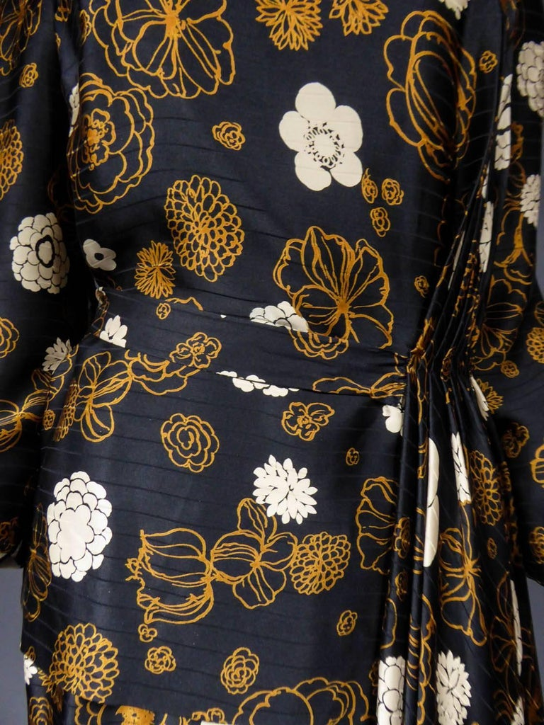 Madame Grès Haute Couture Dress, circa 1980 For Sale 2