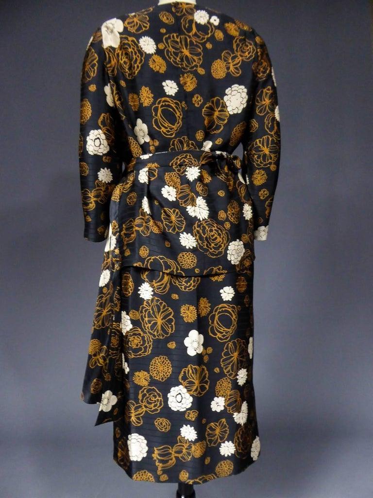 Madame Grès Haute Couture Dress, circa 1980 For Sale 6