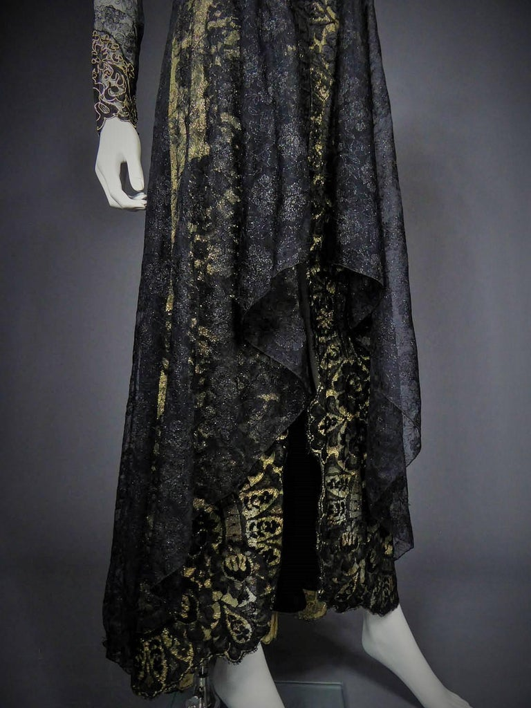 Women's Christian Lacroix Couture evening gown, circa 1990 For Sale