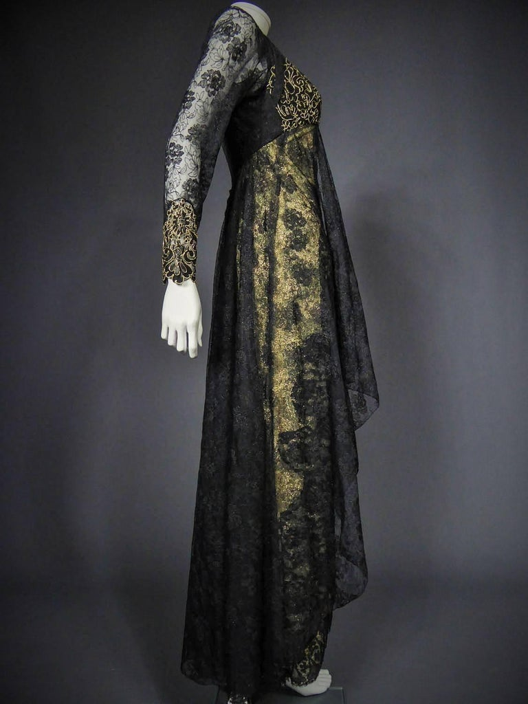 Christian Lacroix Couture evening gown, circa 1990 For Sale 2