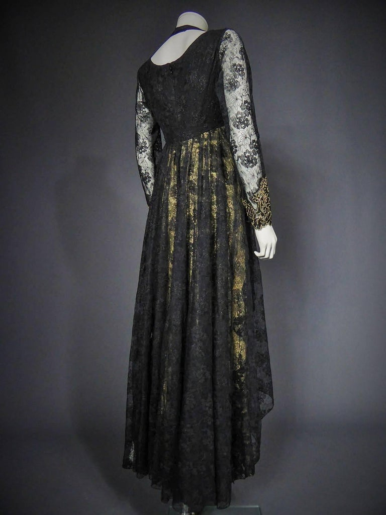 Christian Lacroix Couture evening gown, circa 1990 For Sale 3