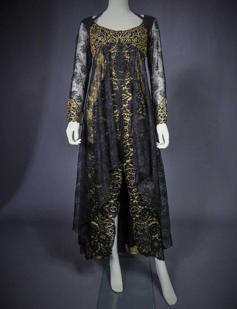Christian Lacroix Couture evening gown, circa 1990 For Sale 5