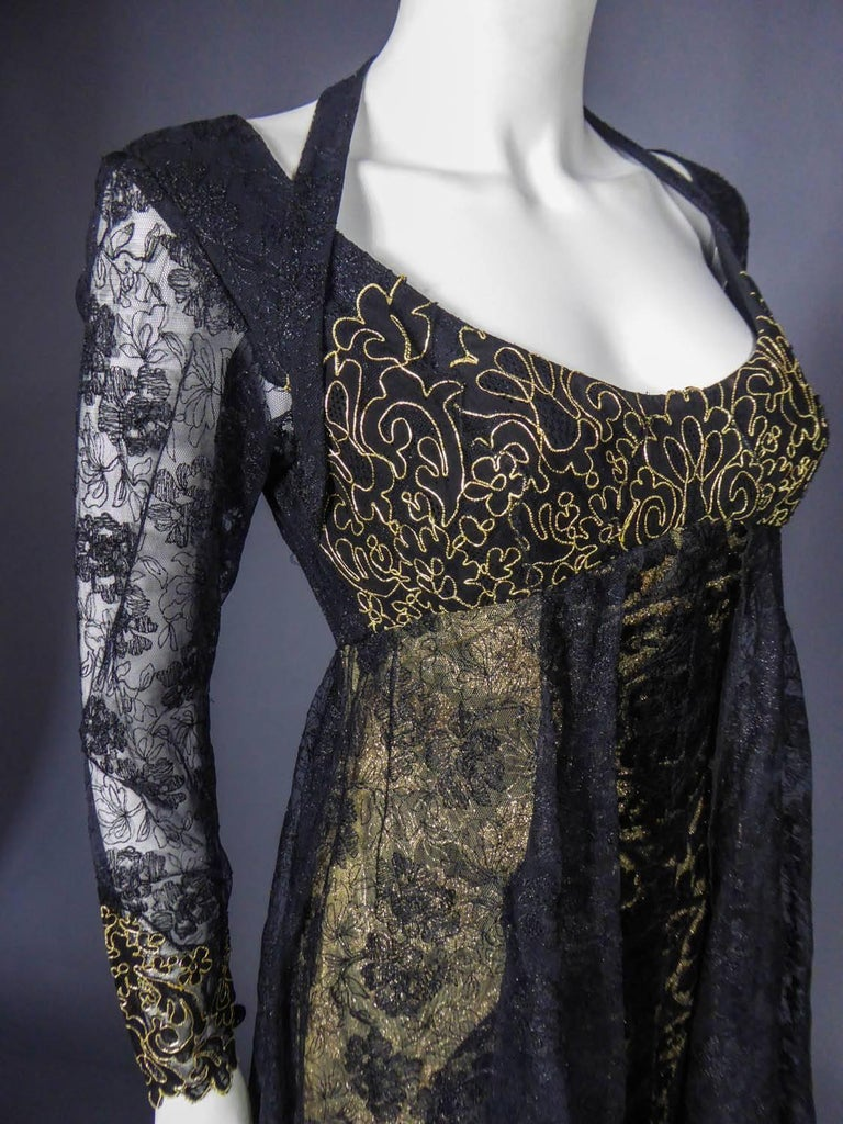 Christian Lacroix Couture evening gown, circa 1990 For Sale 8