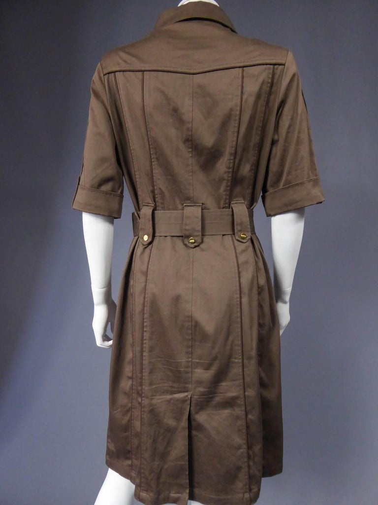 Sahararienne dress Rodier - Circa 1970 - 1980 For Sale 6
