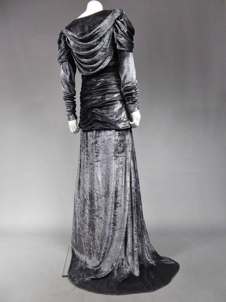 Yves Saint Laurent Couture Evening Dress, Fall 1971 For Sale 5