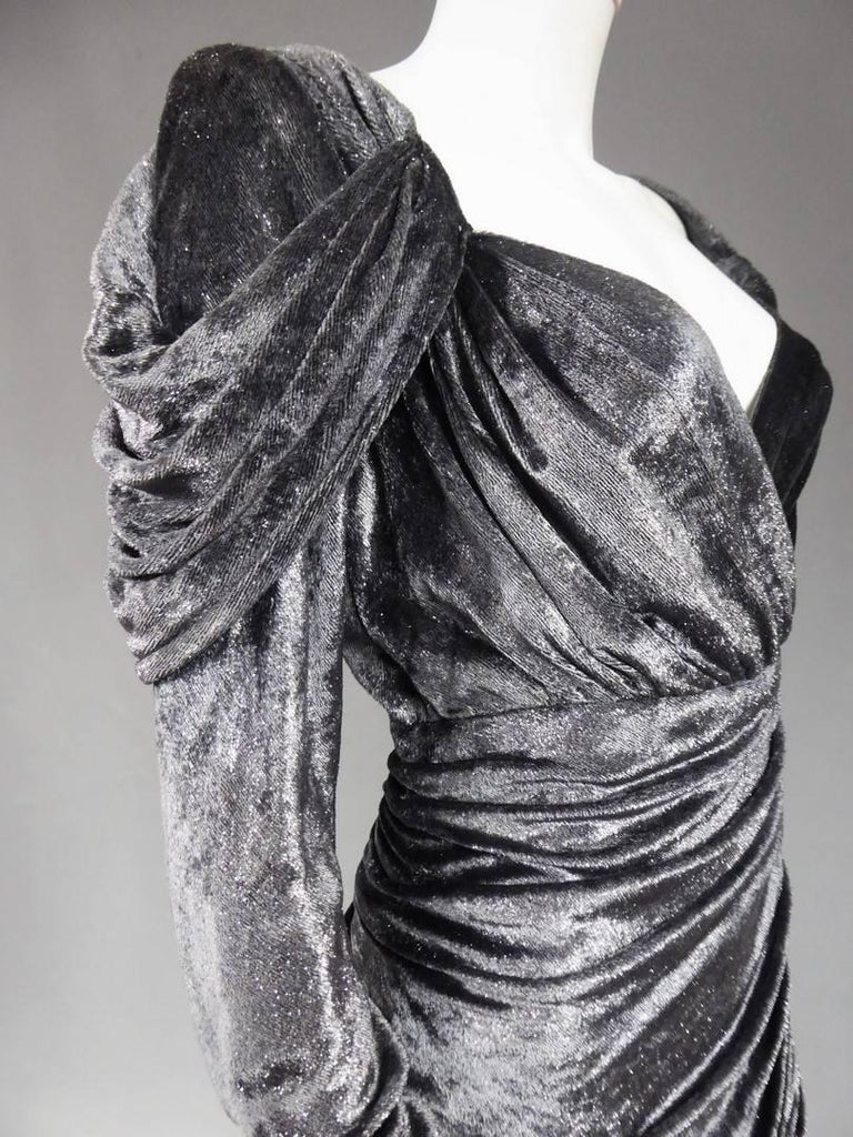 Yves Saint Laurent Couture Evening Dress, Fall 1971 For Sale 7