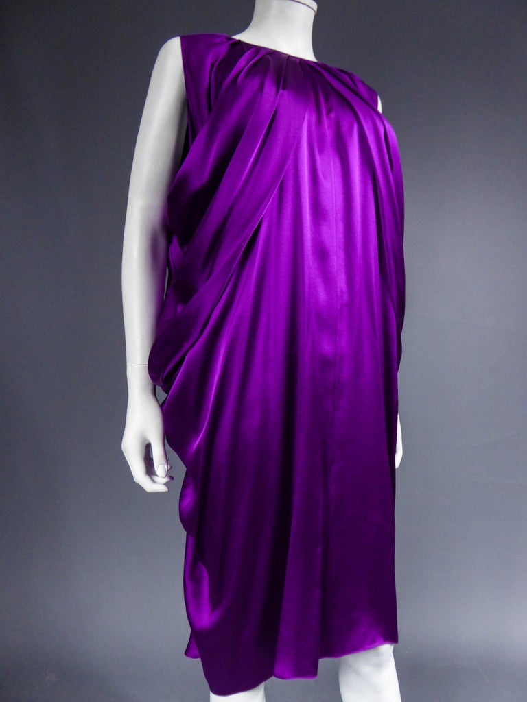 Yves Saint Laurent Dress by Stefano Pilati, 2008 Collection  In Excellent Condition For Sale In Toulon, FR