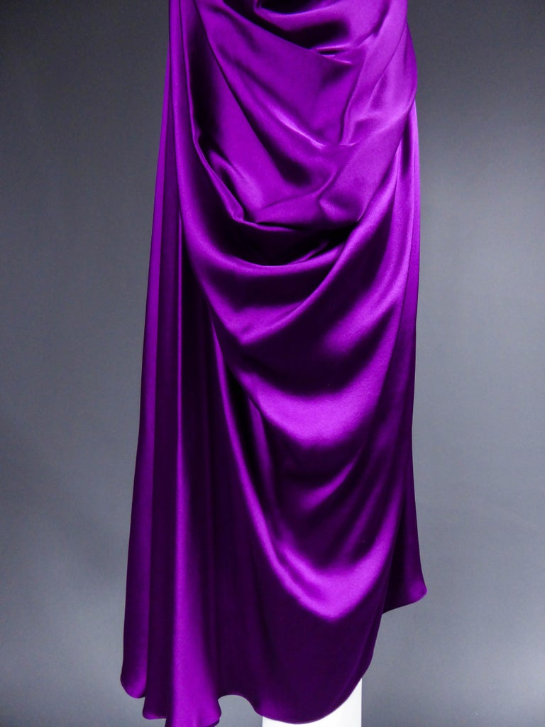 Yves Saint Laurent Dress by Stefano Pilati, 2008 Collection  For Sale 2
