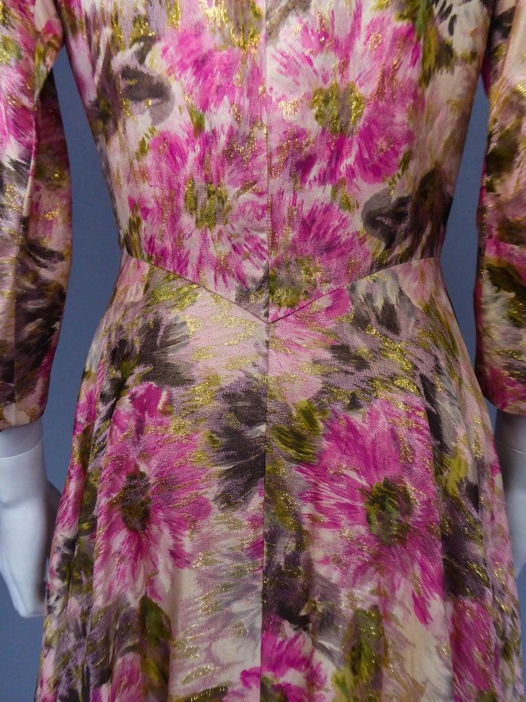 Elizabeth Arden Gold Evening Dress, Circa 1940 For Sale 2