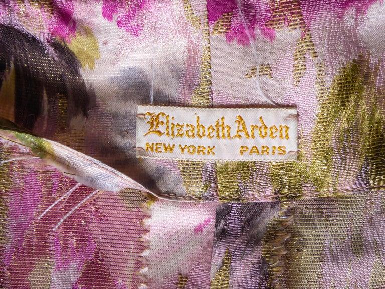 Elizabeth Arden Gold Evening Dress, Circa 1940 For Sale 6