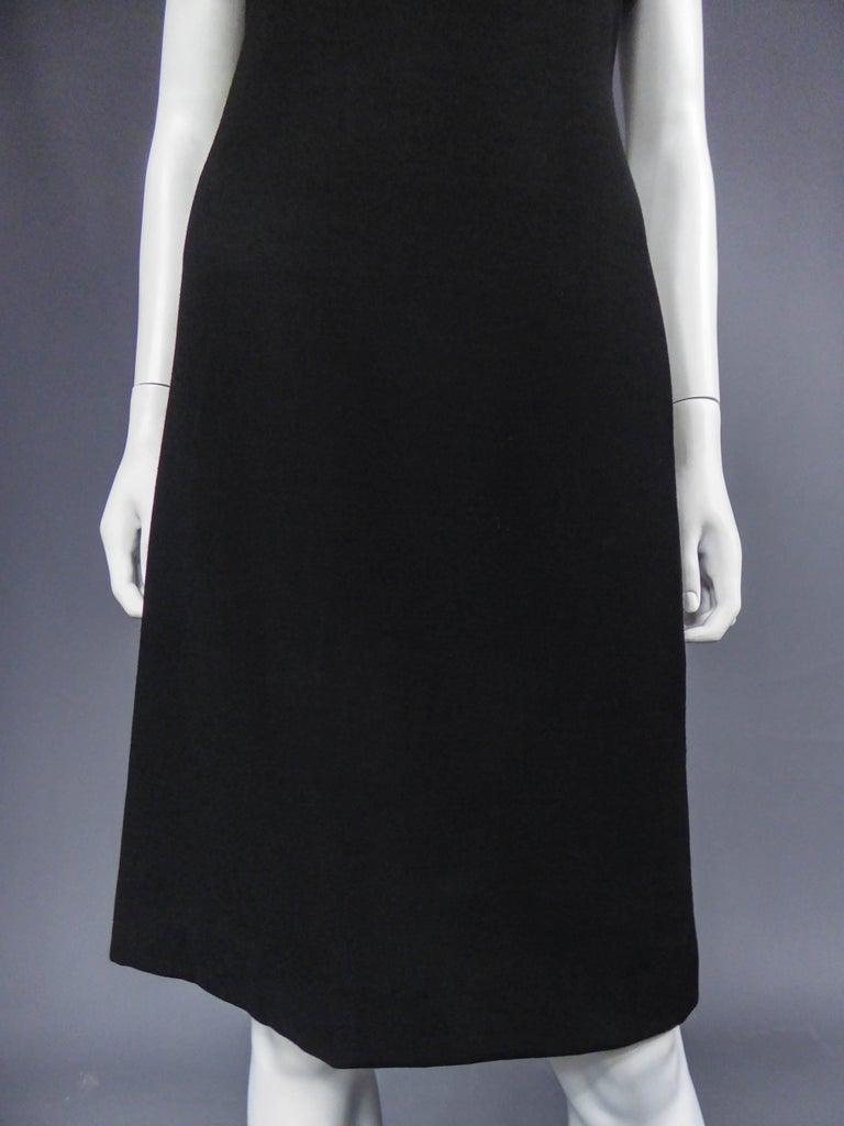 Women's Dolce & Gabbana Little Jewelry Black Dress, circa 2005  For Sale
