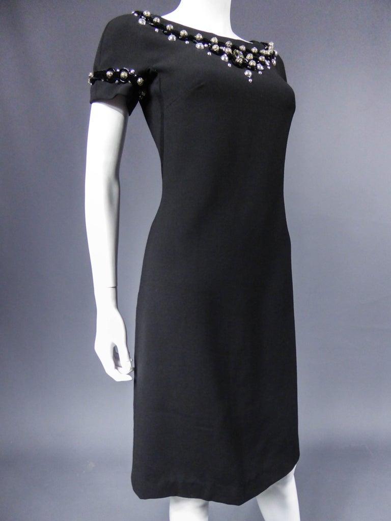 Dolce & Gabbana Little Jewelry Black Dress, circa 2005  For Sale 2