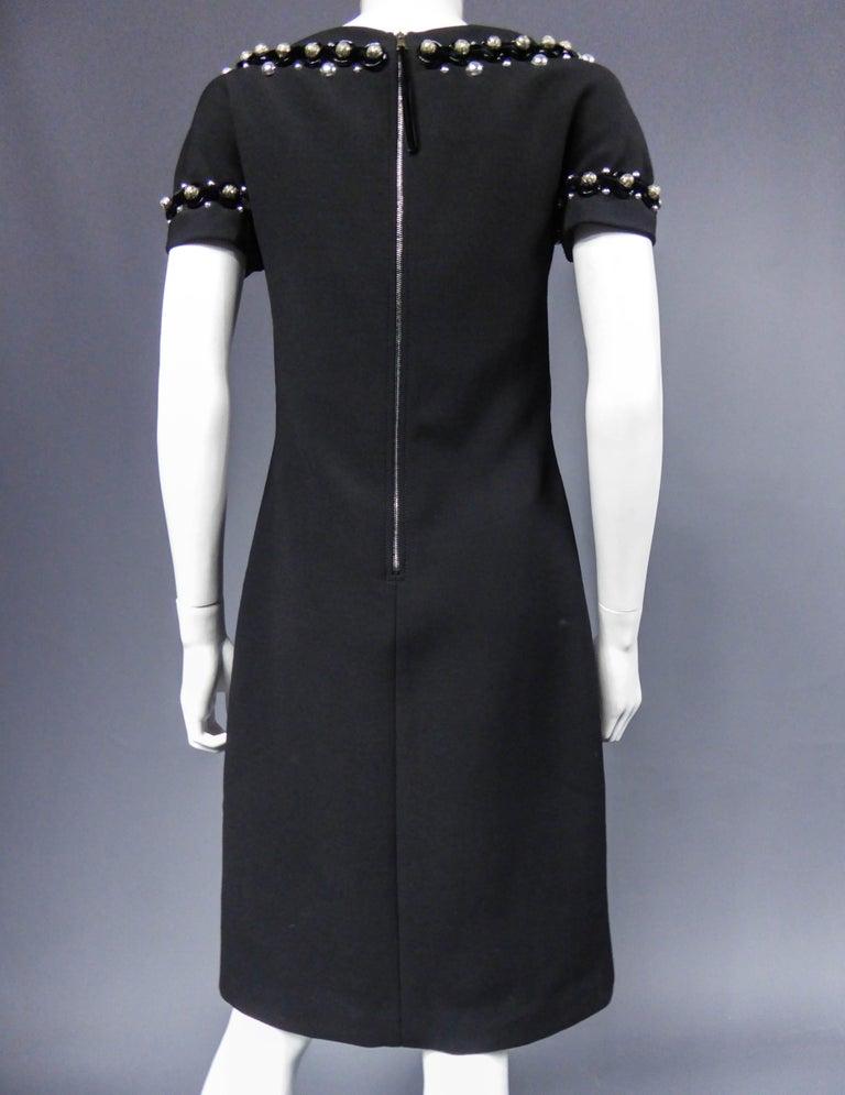 Dolce & Gabbana Little Jewelry Black Dress, circa 2005  For Sale 5