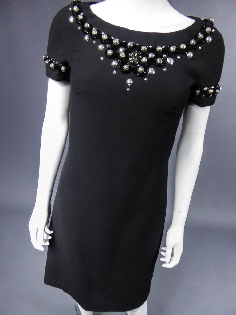 Dolce & Gabbana Little Jewelry Black Dress, circa 2005  For Sale 8