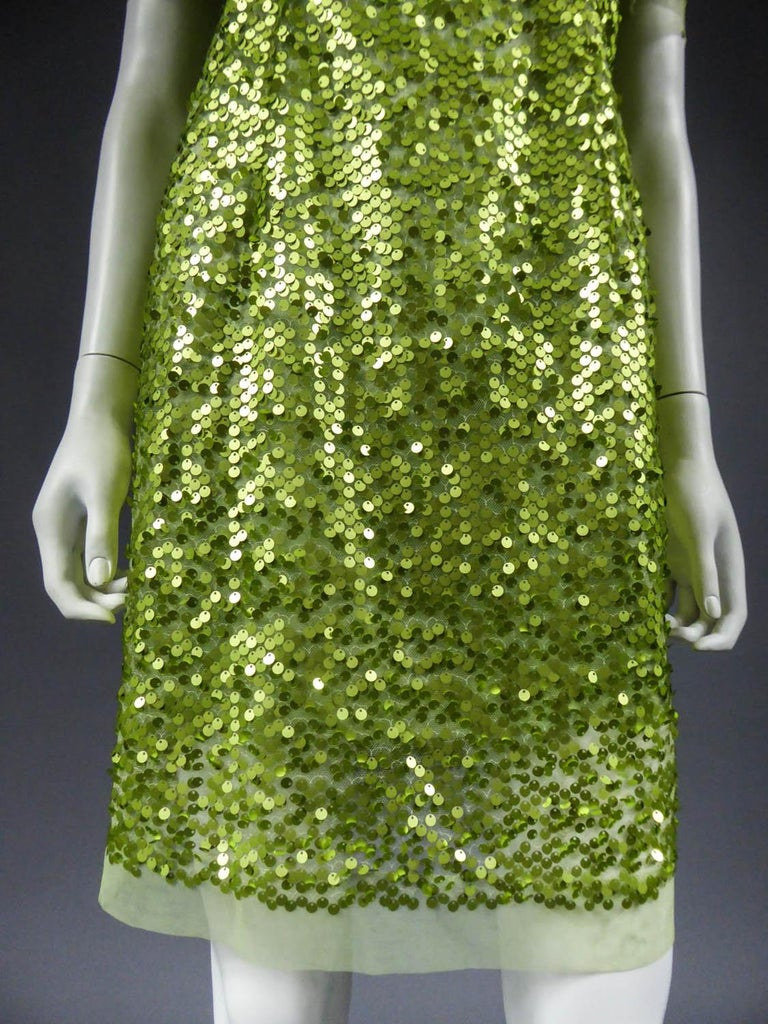 Women's Glitter Dress, Circa 1990 For Sale