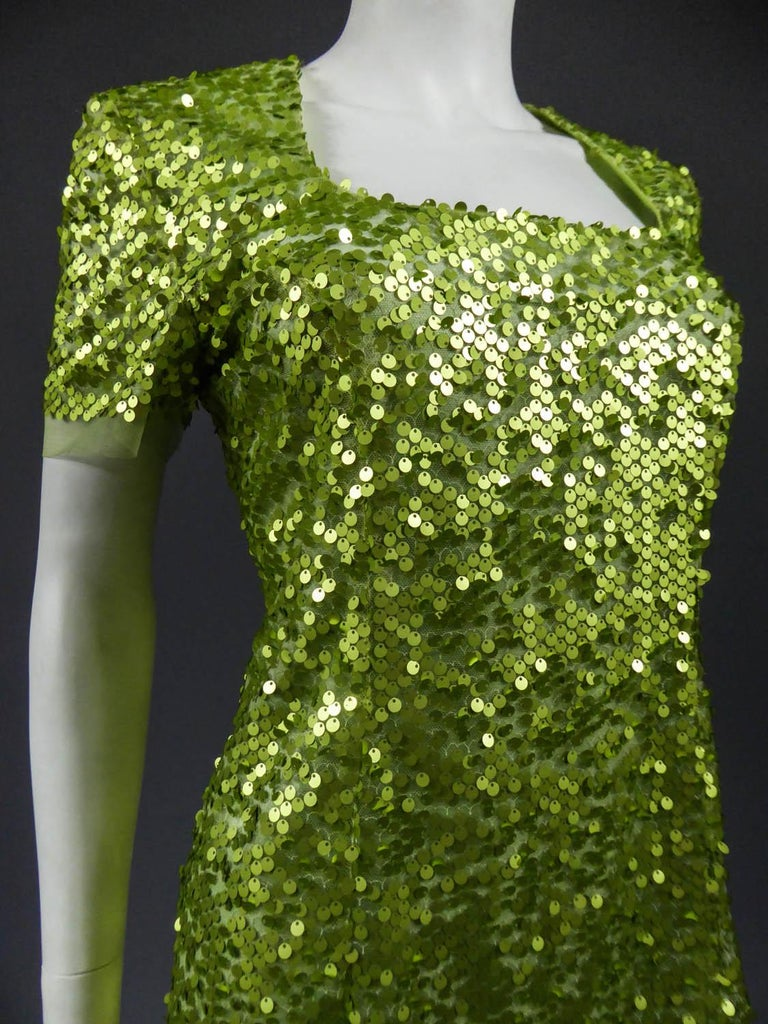 Glitter Dress, Circa 1990 For Sale 2