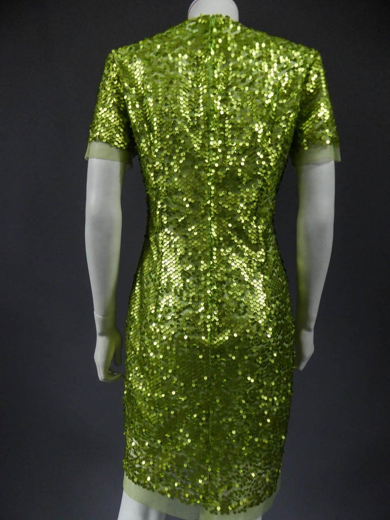 Glitter Dress, Circa 1990 For Sale 5