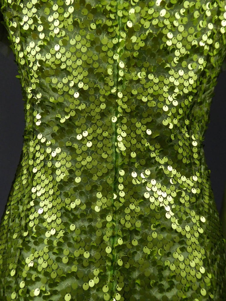 Glitter Dress, Circa 1990 For Sale 6