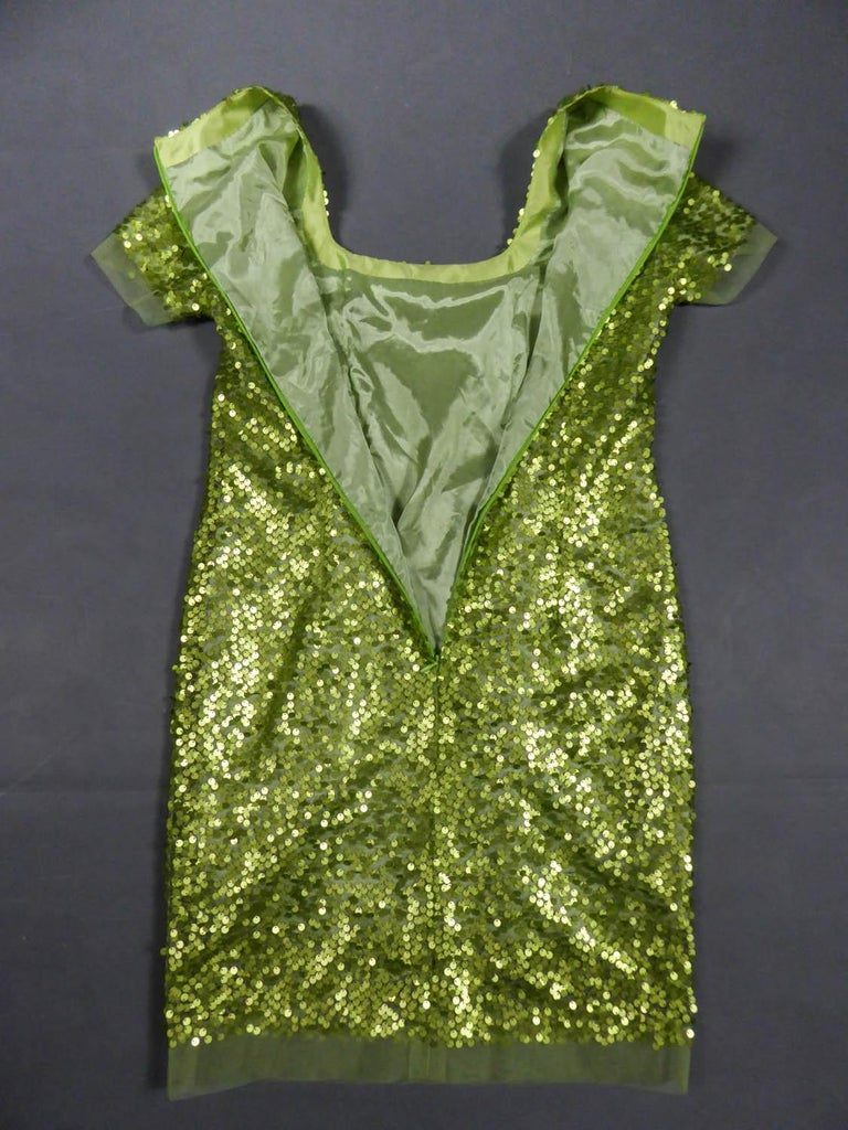 Glitter Dress, Circa 1990 For Sale 8