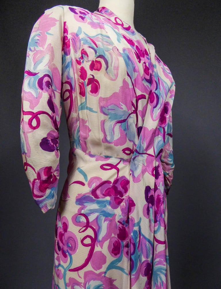 Long Dress Circa 1940 For Sale 3