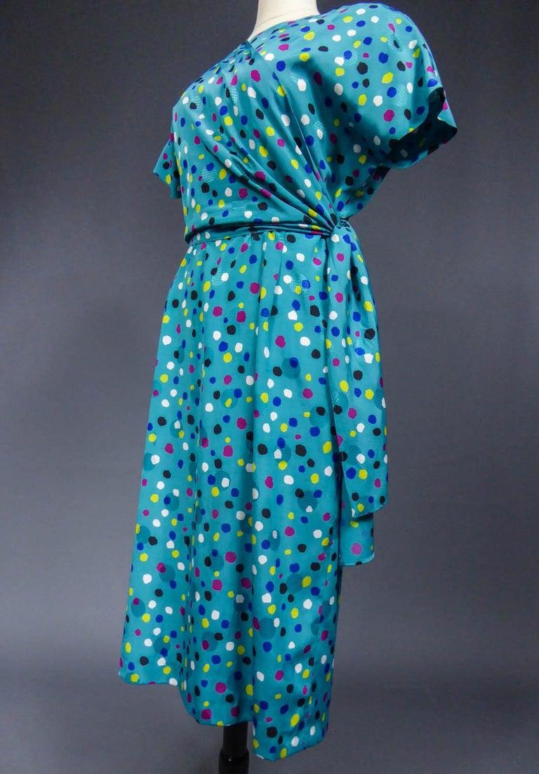 Pierre Balmain Dress, Circa 1980 For Sale 1
