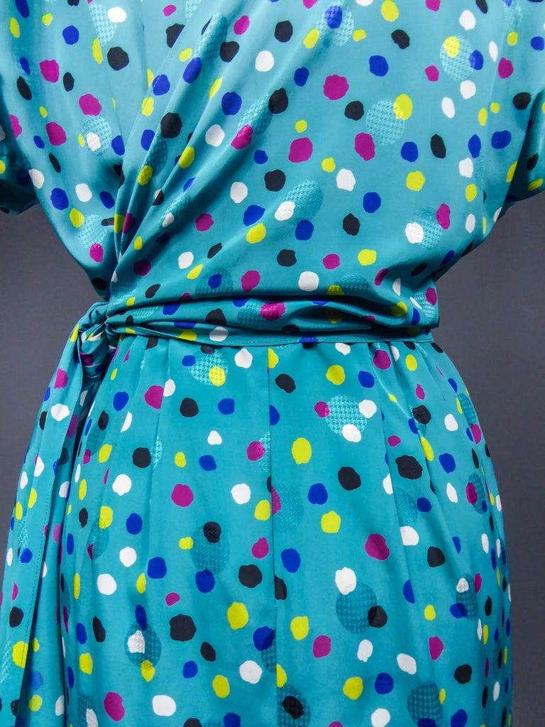 Pierre Balmain Dress, Circa 1980 For Sale 5