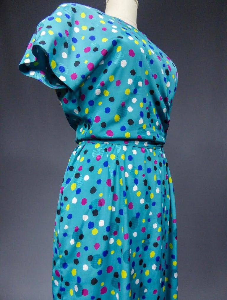 Pierre Balmain Dress, Circa 1980 For Sale 7