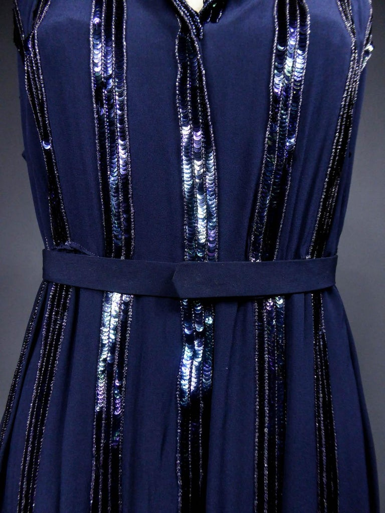 Women's Worth Couture Dress, Circa 1960 For Sale