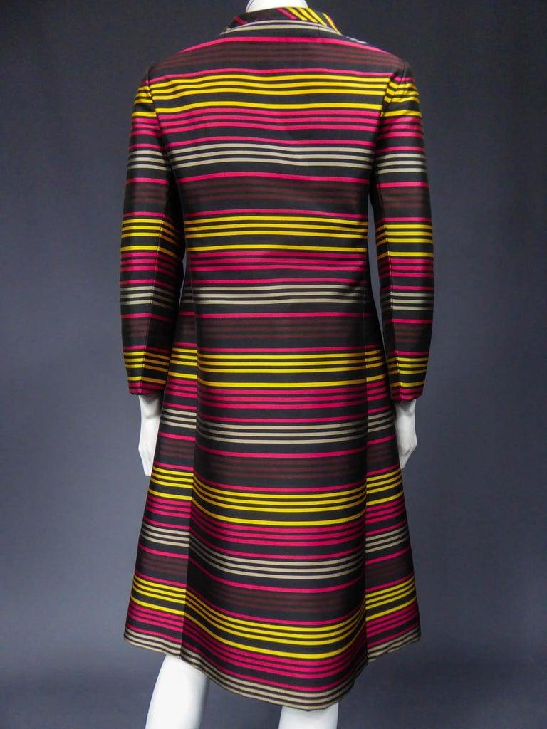 Jeanne Lanvin Couture cocktail dress, Circa 1965 For Sale 6