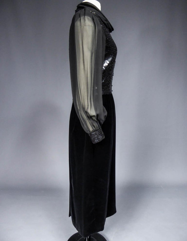 Balenciaga by Nicolas Ghesquière Little black dress, Circa 1995  For Sale 6
