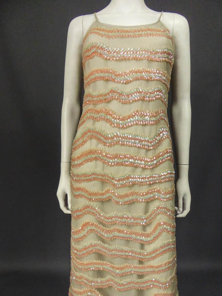 Giorgio Armani Couture fashion show dress worn by Claudia Cardinale - Circa 2000 In Excellent Condition For Sale In Toulon, FR