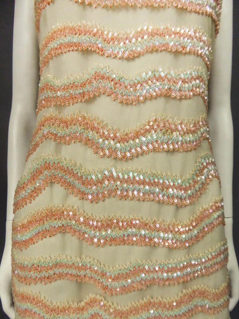 Women's Giorgio Armani Couture fashion show dress worn by Claudia Cardinale - Circa 2000 For Sale