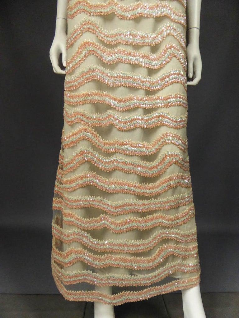 Giorgio Armani Couture fashion show dress worn by Claudia Cardinale - Circa 2000 For Sale 1