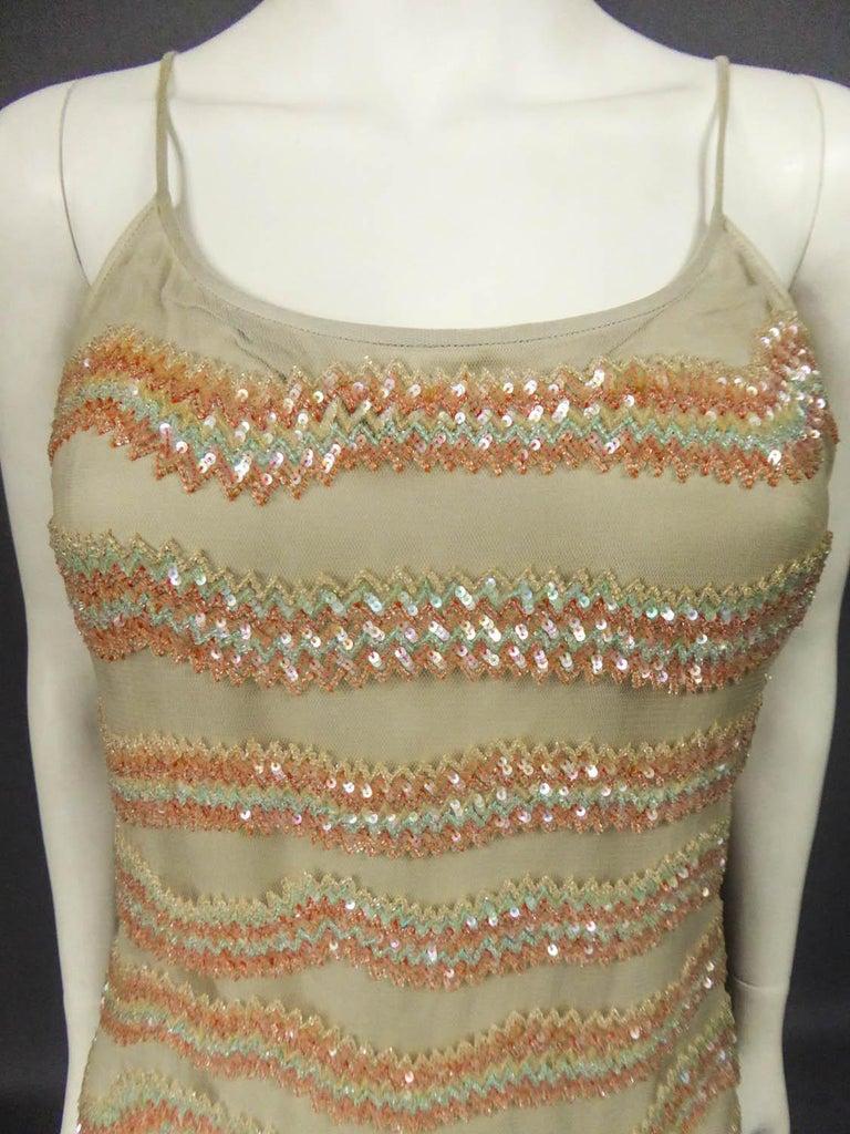 Giorgio Armani Couture fashion show dress worn by Claudia Cardinale - Circa 2000 For Sale 2