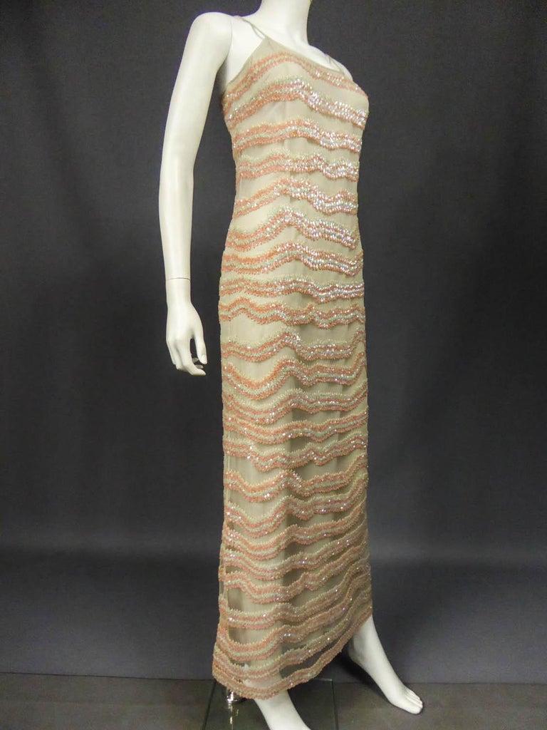 Giorgio Armani Couture fashion show dress worn by Claudia Cardinale - Circa 2000 For Sale 3