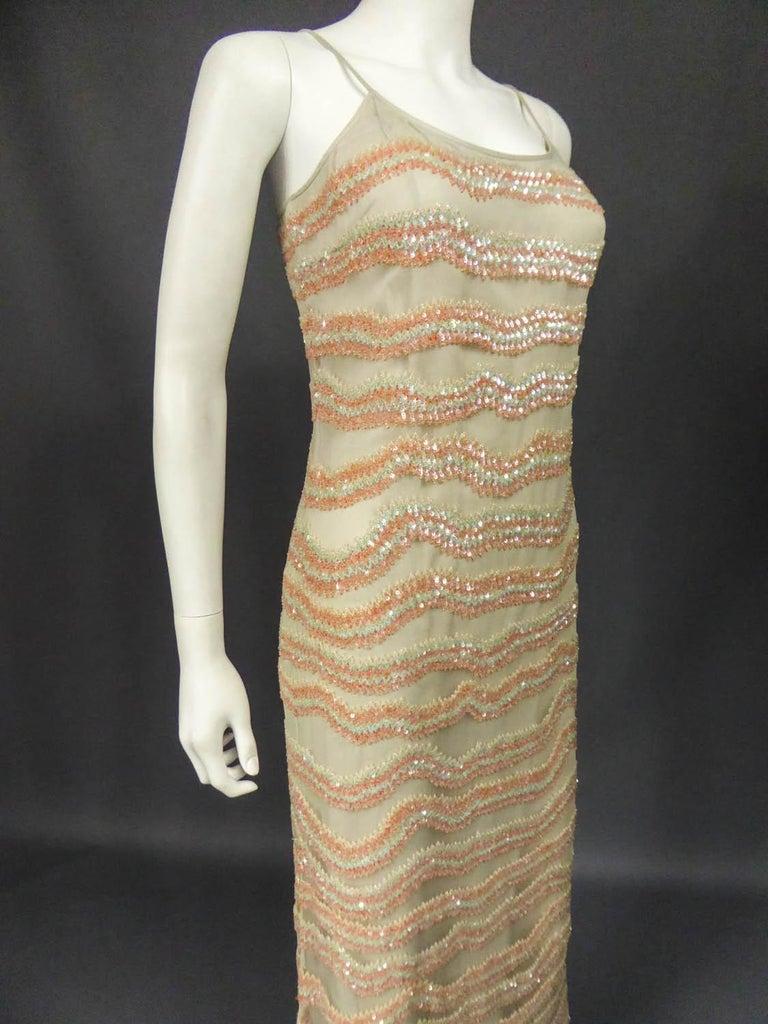 Giorgio Armani Couture fashion show dress worn by Claudia Cardinale - Circa 2000 For Sale 4