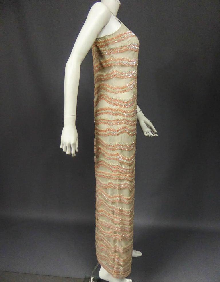 Giorgio Armani Couture fashion show dress worn by Claudia Cardinale - Circa 2000 For Sale 5